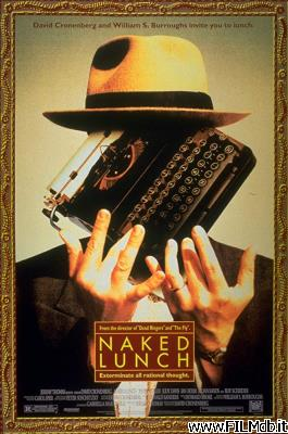 Poster of movie naked lunch