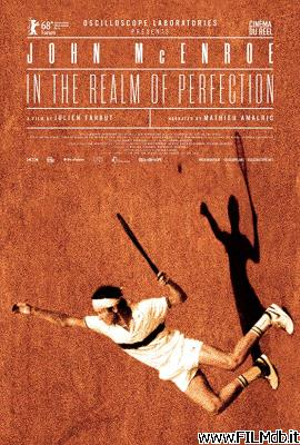 Cartel de la pelicula John McEnroe: in the Realm of Perfection