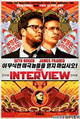 Locandina del film the interview