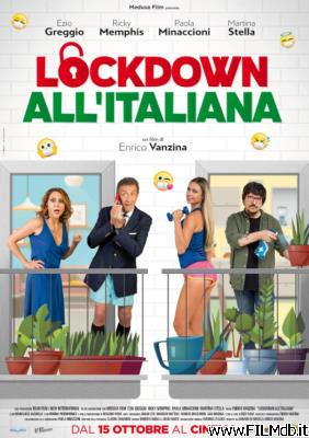 Affiche de film Lockdown all'italiana