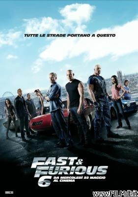 Locandina del film fast and furious 6