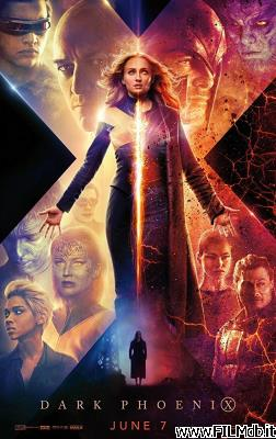 Locandina del film x-men - dark phoenix