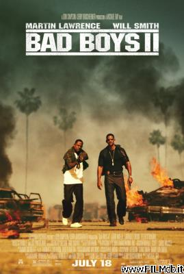 Locandina del film bad boys 2
