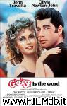 poster del film grease - brillantina
