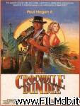 poster del film mister crocodile dundee