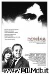 poster del film missing - scomparso