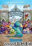 poster del film monsters university