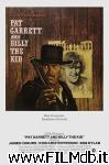 poster del film pat garrett e billy the kid