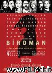 poster del film birdman - o (l'imprevedibile virtù dell'ignoranza)