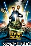 poster del film star wars: the clone wars
