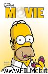 poster del film i simpson - il film