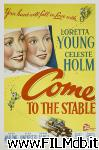 poster del film Come to the Stable