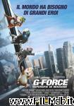 poster del film g-force - superspie in missione