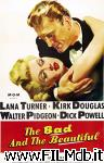 poster del film the bad and the beautiful