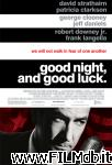 poster del film good night, and good luck.
