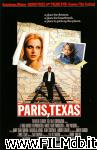 poster del film paris, texas