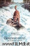 poster del film homeward bound: the incredible journey
