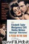 poster del film a place in the sun