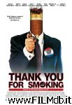 poster del film thank you for smoking