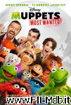 poster del film muppets 2 - ricercati