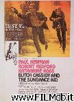 poster del film butch cassidy and the sundance kid