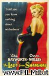 poster del film the lady from shanghai
