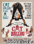 poster del film cat ballou