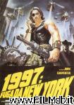 poster del film 1997: fuga da new york
