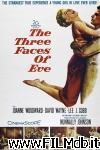 poster del film the three faces of eve
