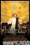 poster del film la diva julia - being julia