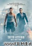 poster del film sotto assedio - white house down
