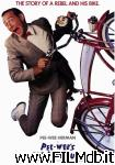 poster del film pee-wee's big adventure