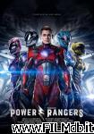 poster del film power rangers