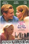 poster del film i love you, i love you not